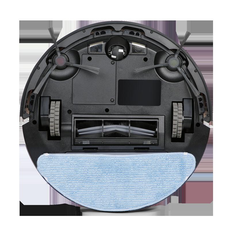 Ecovacs DEEBOT OZMO U2 Robot Vacuum and Mop - Black